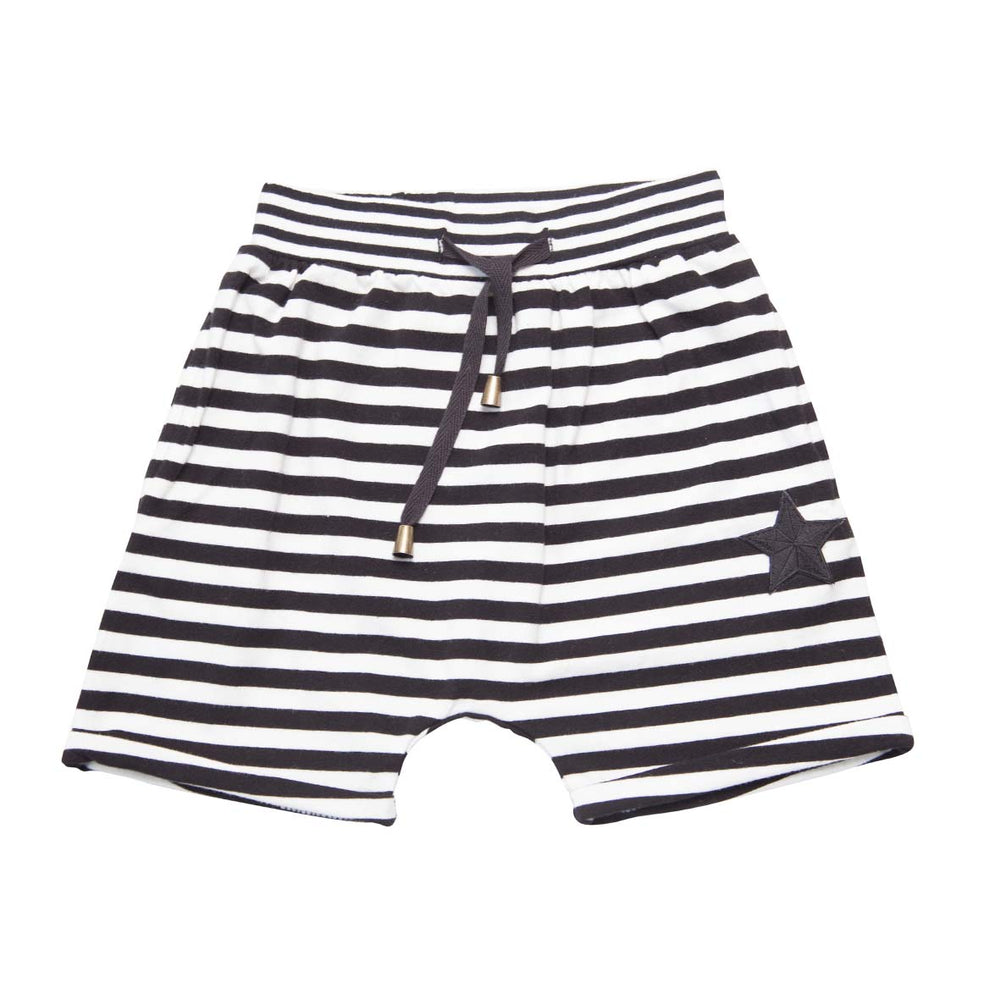 He and Her The Label | Pirate Stripe Relaxed Short - Size 6 LAST ONE