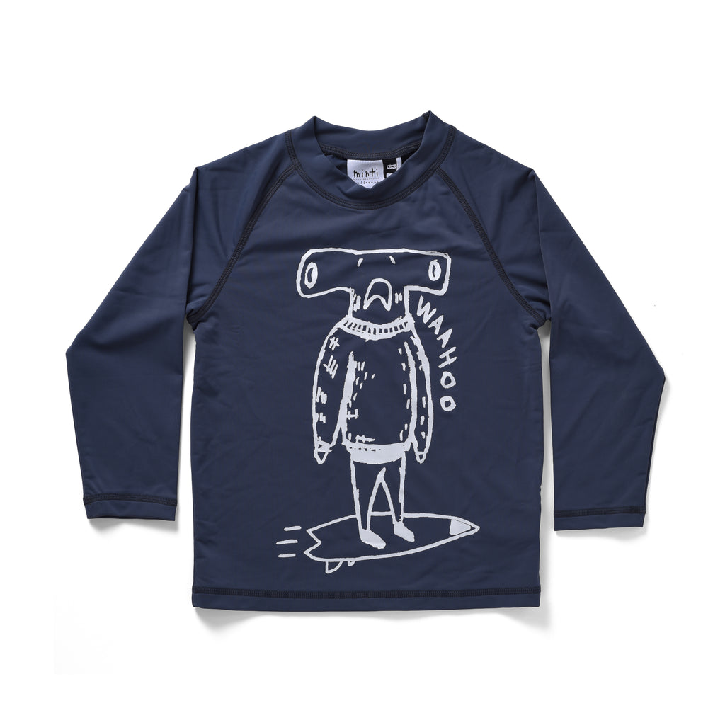 Minti | Hammerhead Long Sleeve Rashie - LAST TWO