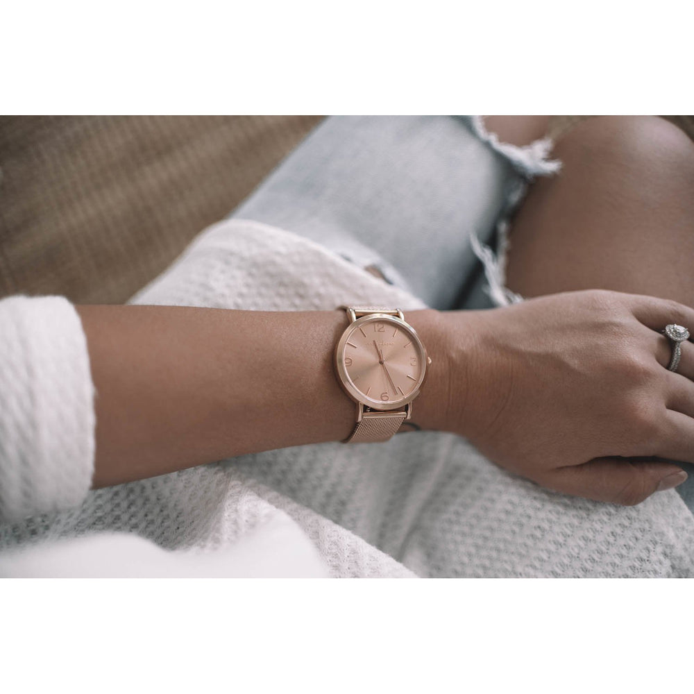 Marlee | Adult Rose Gold Mesh