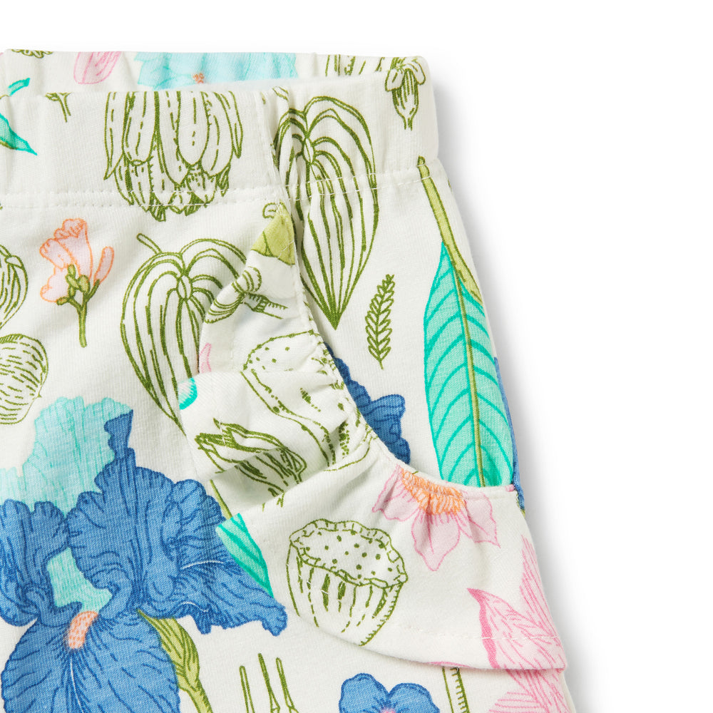 Wilson & Frenchy | Flora Ruffle Pocket Shorts