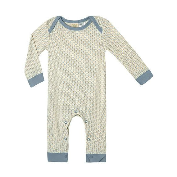 Sapling Child Organic | Little Boy Blue Romper - LAST TWO