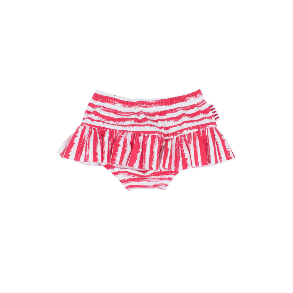 SOOKIbaby | Pop Pink Striped Ra-ra Skirt Nappy Pant - Size 0 LAST ONE