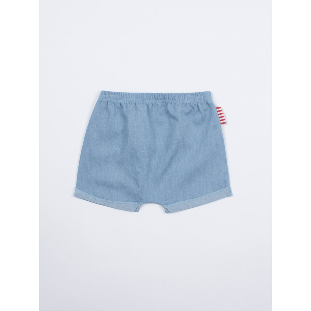 SOOKIbaby | Chambray Roll Cuff Short - Size 00 LAST ONE