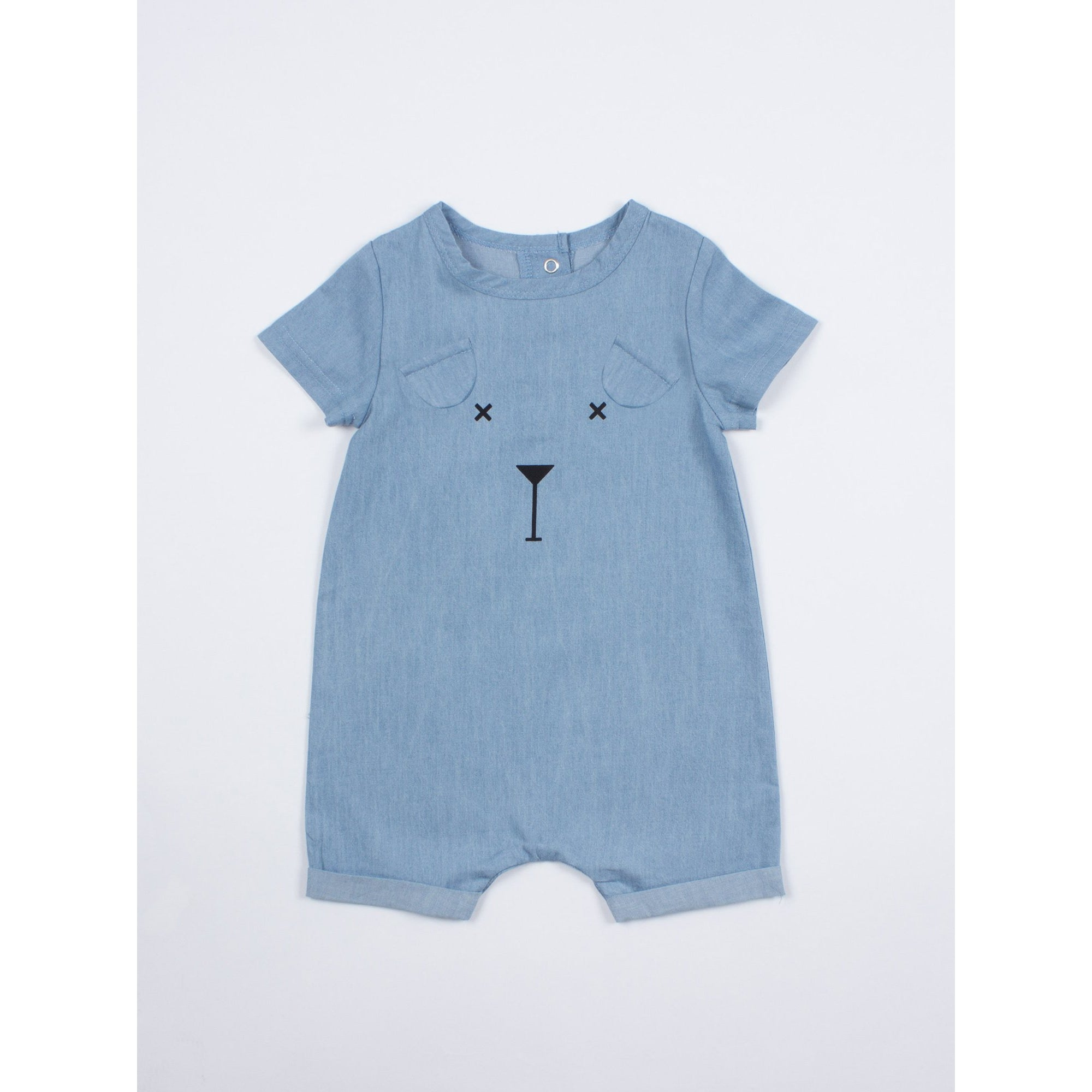 SOOKIbaby | Character Chambray Playsuit - Size 000 LAST ONE