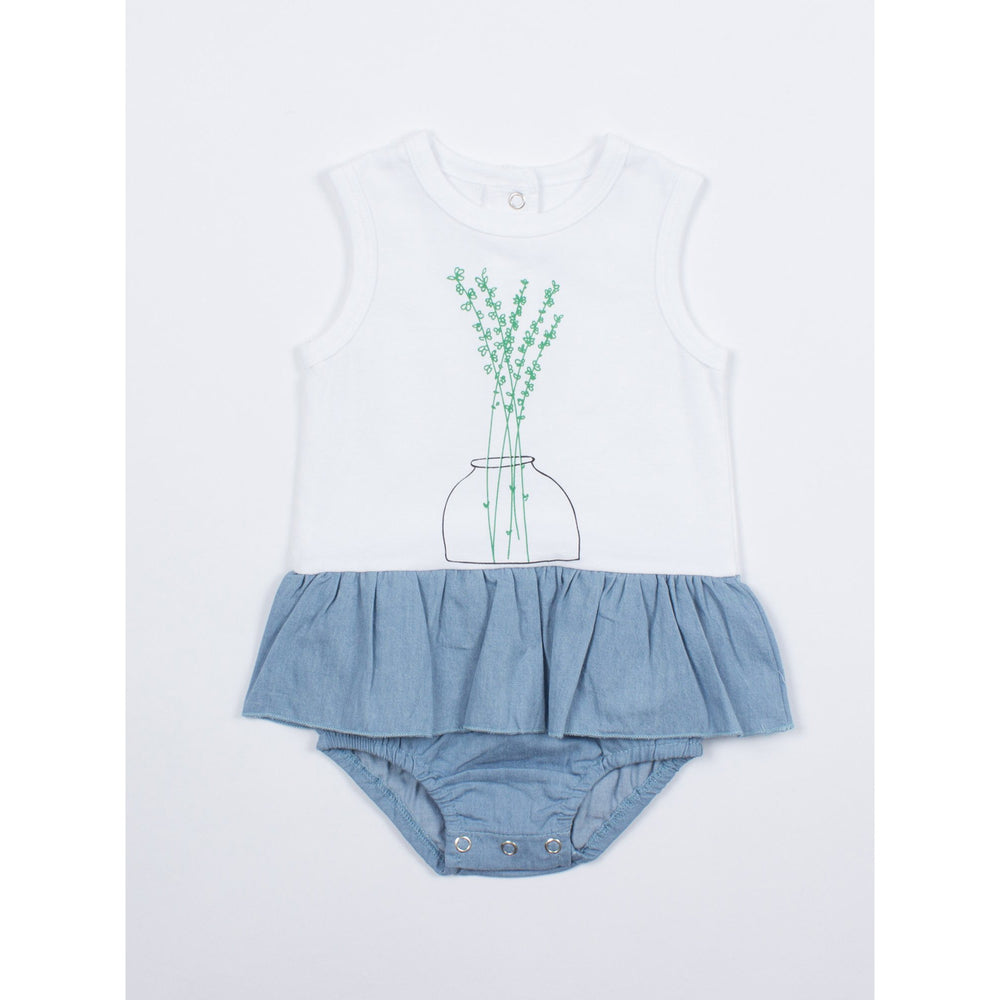 SOOKIbaby | Petit Flower All In One Skirt Bloomer - LAST TWO