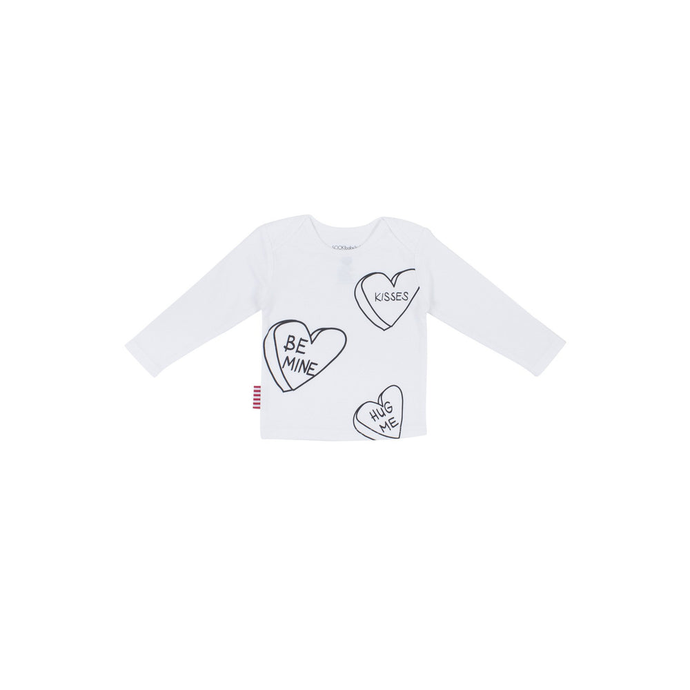SOOKIbaby | Be Mine Tee - Size 0 LAST ONE