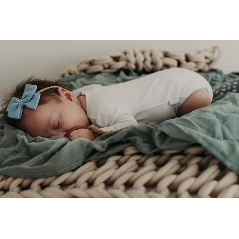 Pop Ya Tot | Soft Moss - The Essential Swaddle Range
