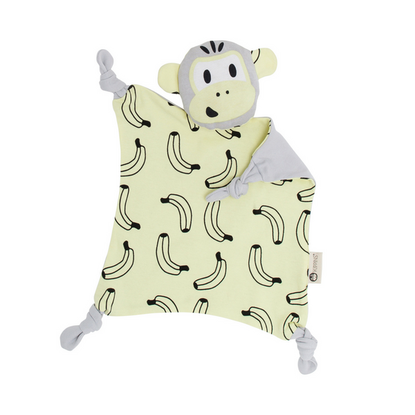 Kippins | Splits Kippin Cuddle Blankie - Sorbet Yellow