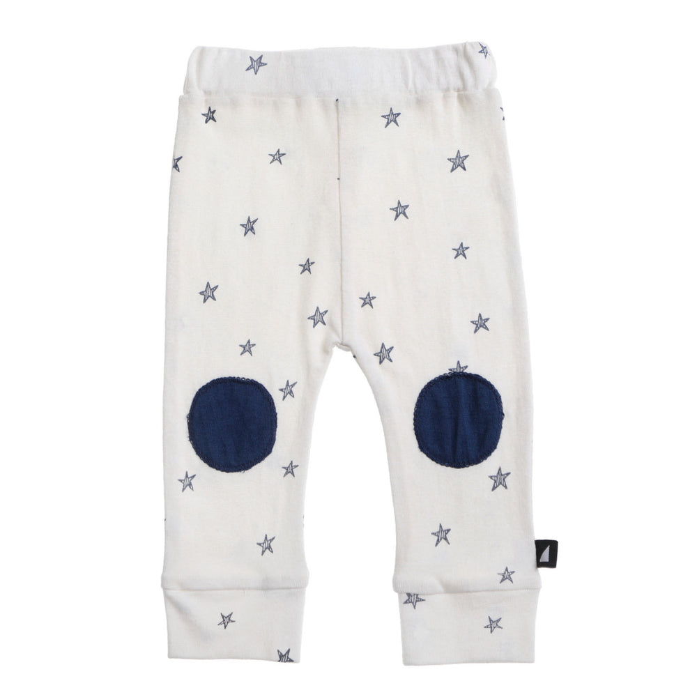 Anarkid | Starry Night Patch Leggings - Lily White - LAST TWO