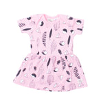 Milk & Masuki | Bodysuit Dress - Feathers Meterage - LAST TWO