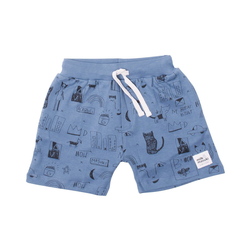 Milk & Masuki | Boys Shorts - Basquiat Meterage