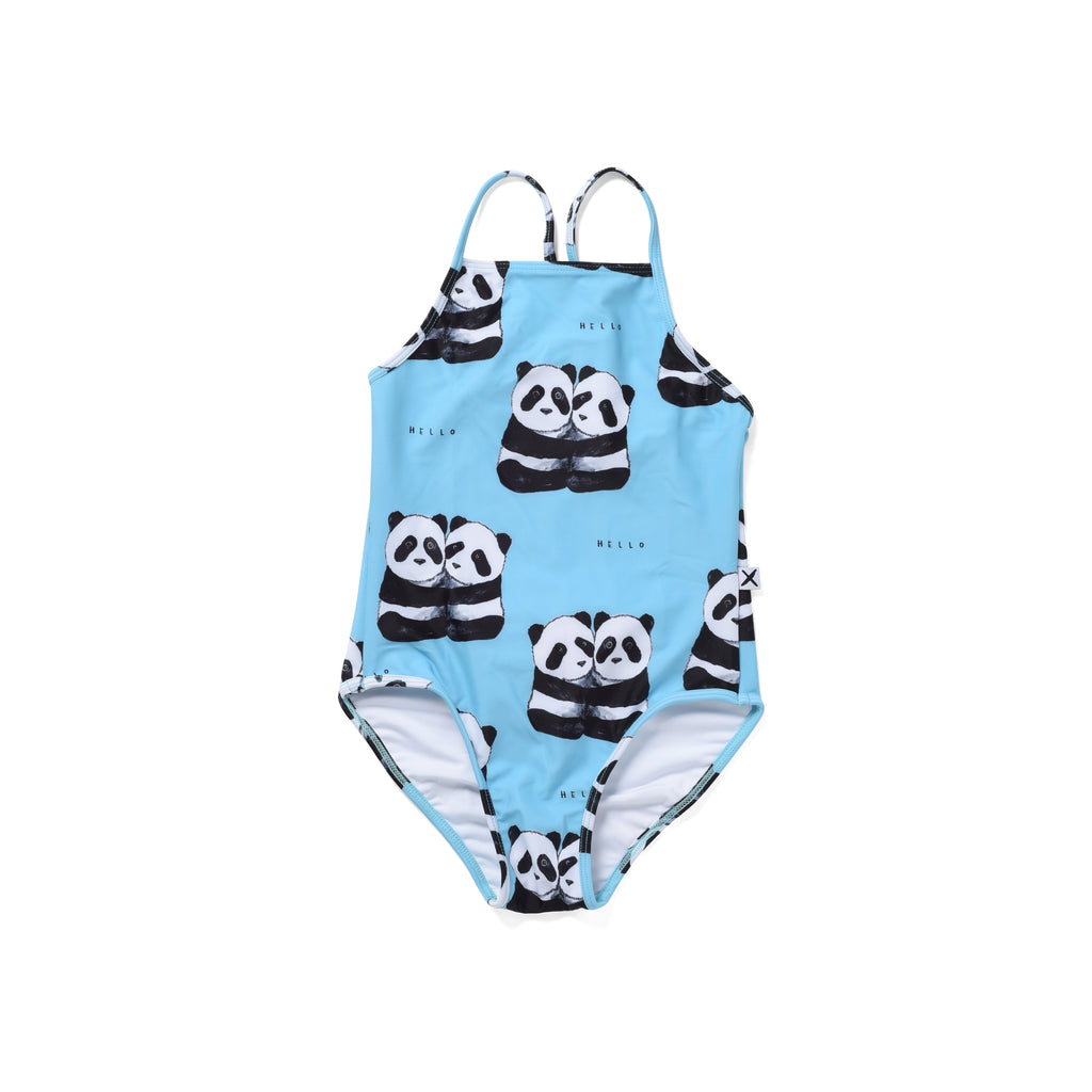 Minti | Panda Pair Swimsuit