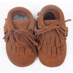 Little Strong Co. | Limited Edition Mocc Booties - Tan - LAST ONE