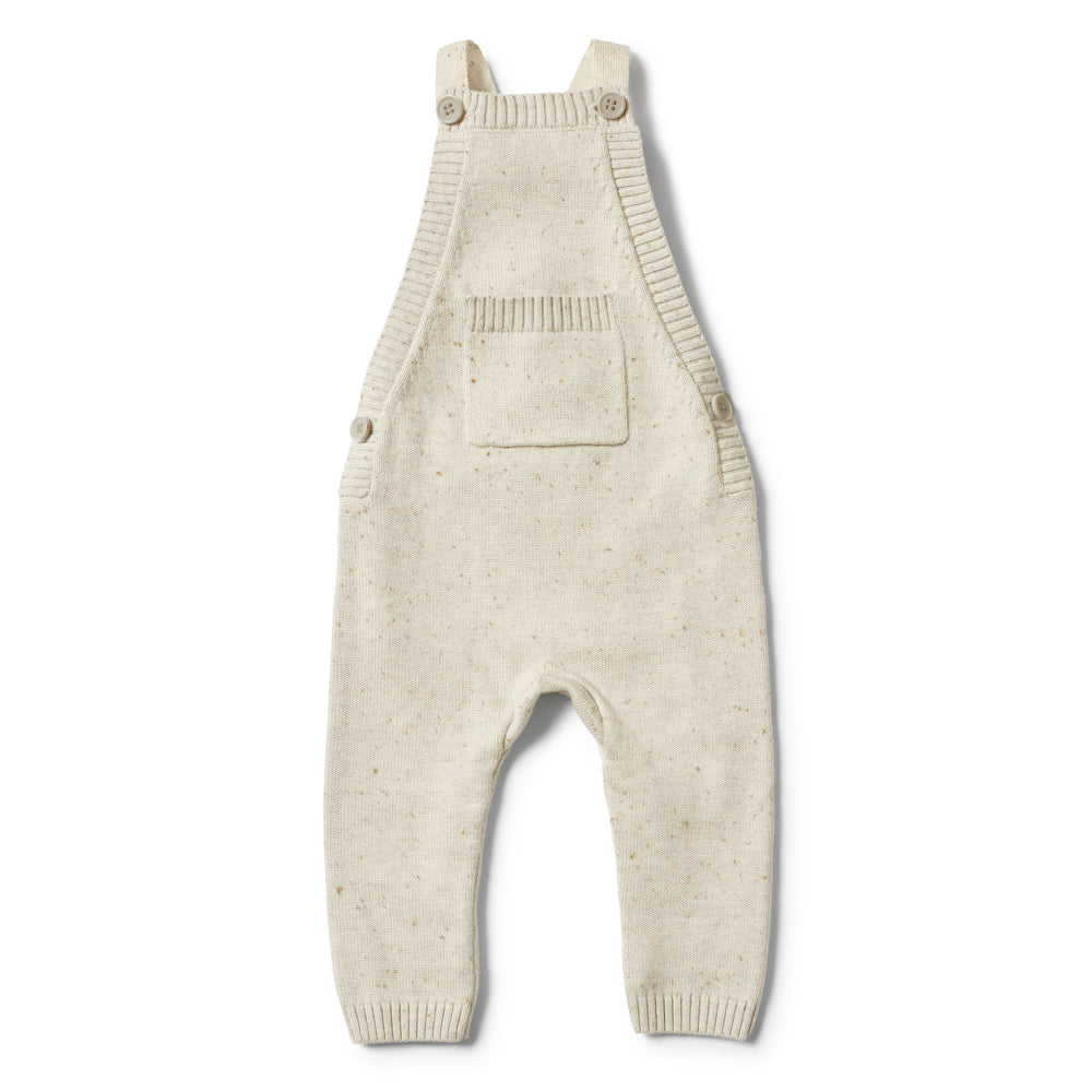 Wilson & Frenchy | Olive Speckle Knitted Overall