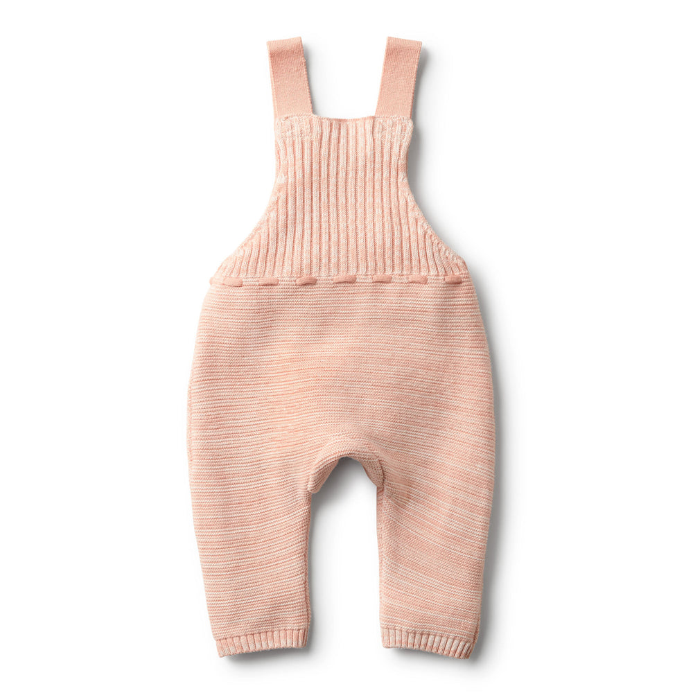 Wilson & Frenchy | Strawberry & Cream Knitted Overall