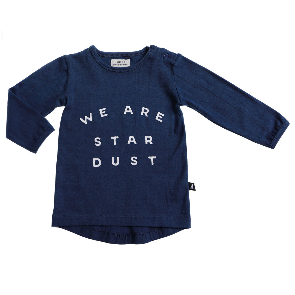 Anarkid | We Are Stardust Long Sleeve Tee - Navy - LAST TWO