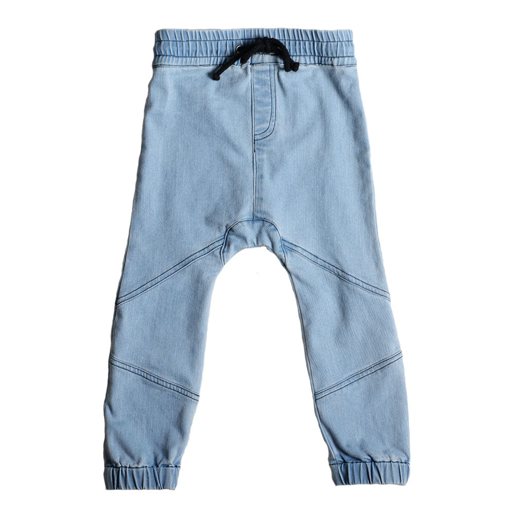 Anarkid | Denim Joggers Light Wash