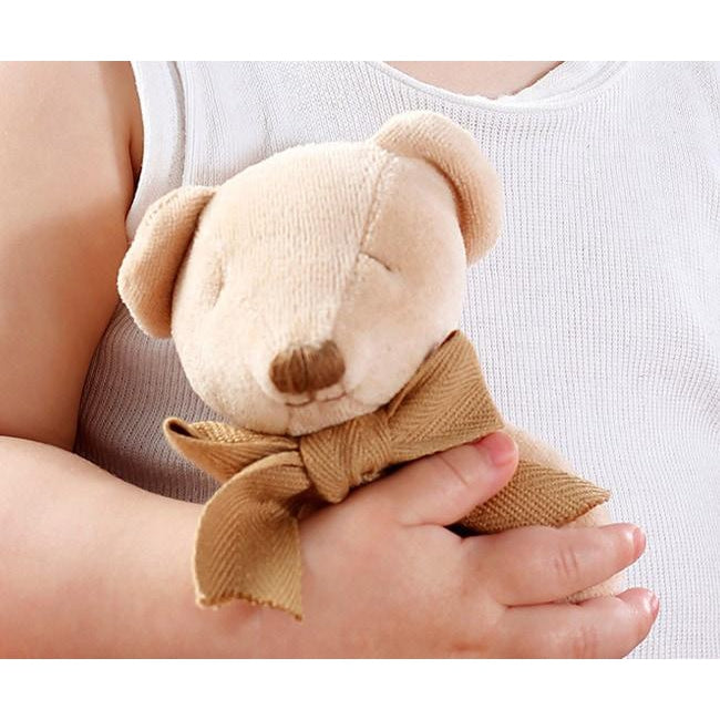 Maud N Lil | Organic Soft Toy Comforter - Cubby the Teddy Bear