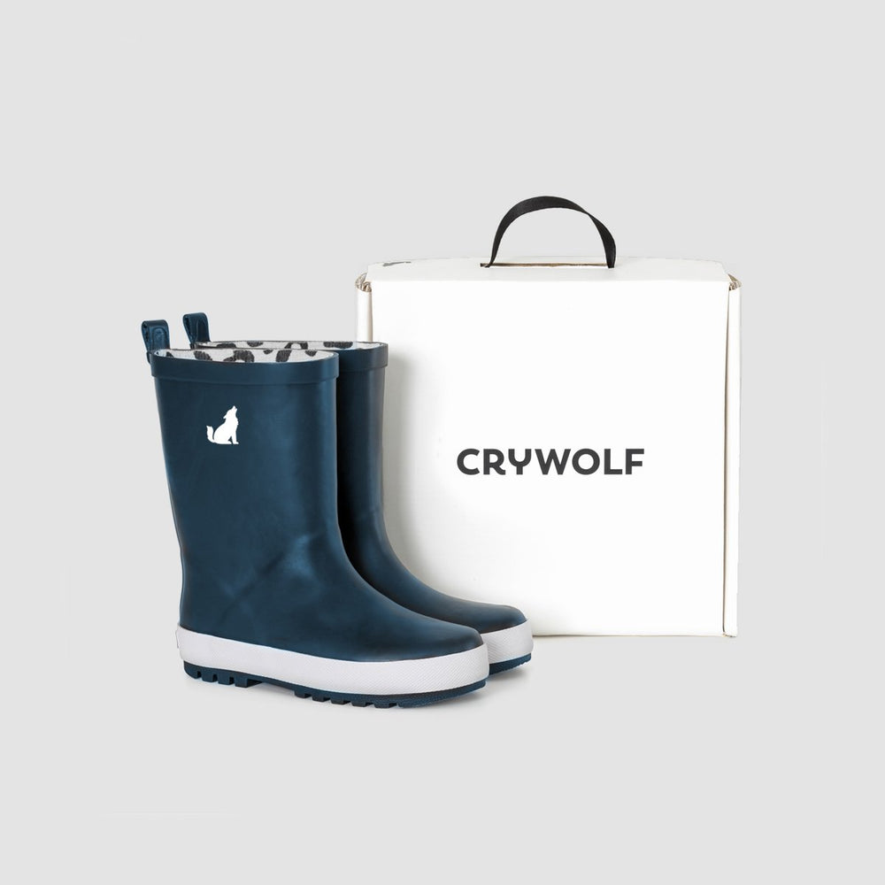 Crywolf | Rain Boots - Midnight Blue