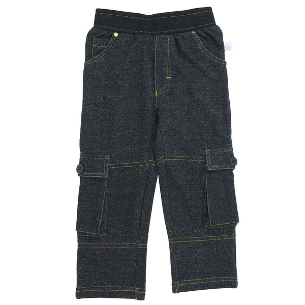 RuggedButts Faux Denim Pull-on Cargo Pants