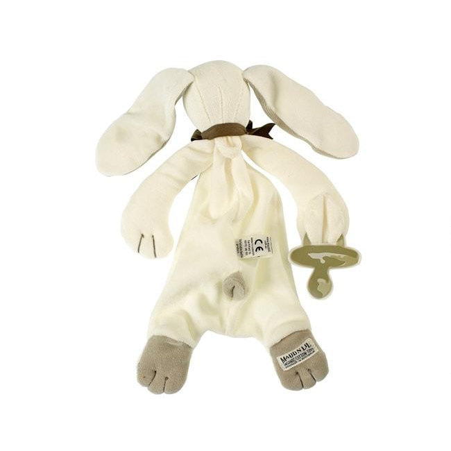 Maud N Lil | Organic Soft Toy Comforter - Ears the Bunny