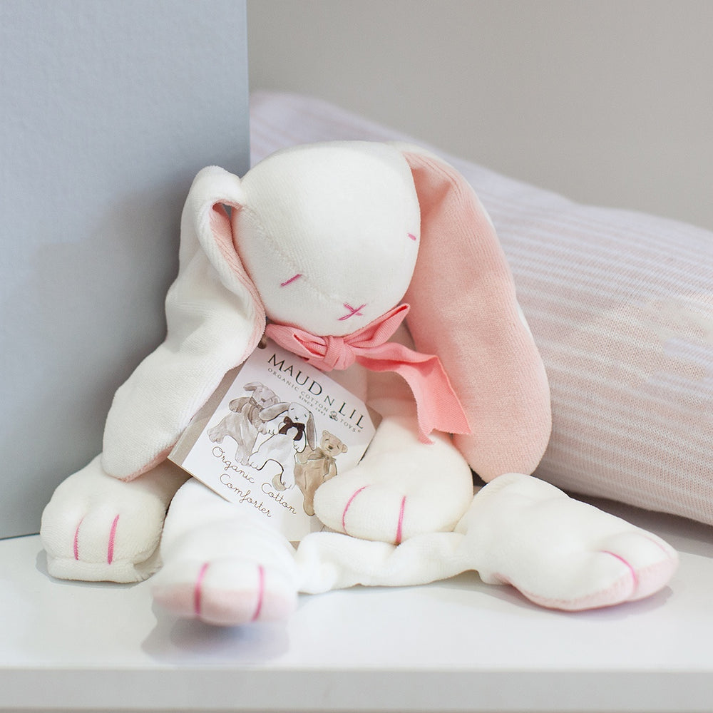 Maud N Lil | Organic Soft Toy Comforter - Rose the Bunny