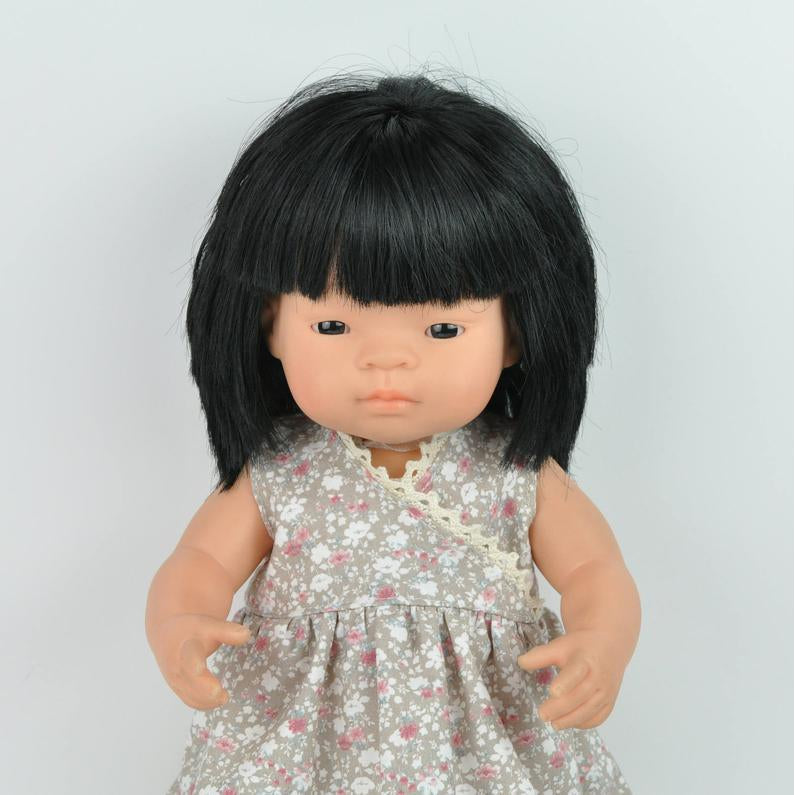 Przytullale | Floral Dress - fits 38cm doll