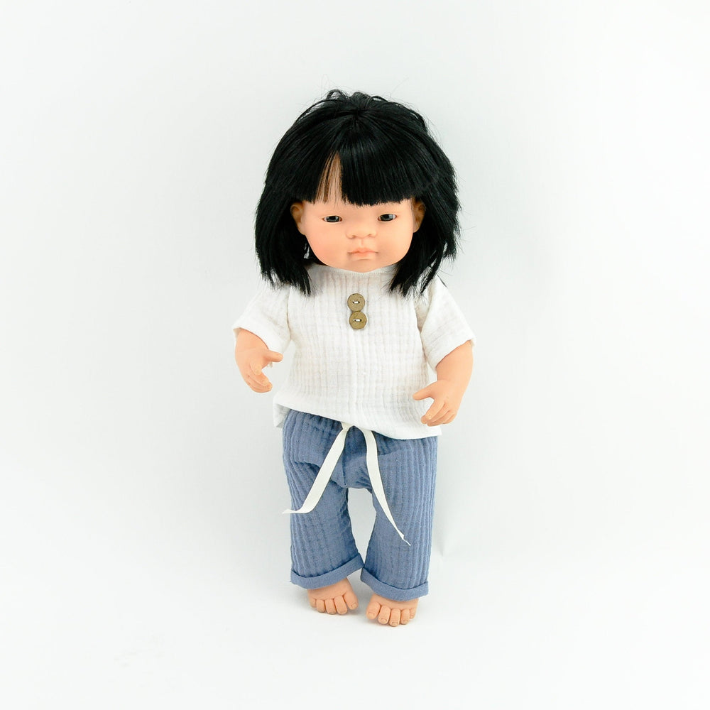 Przytullale | Muslin Pants and Top - fits 38cm doll