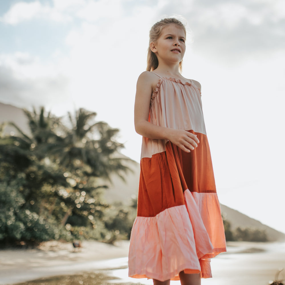 Tully and the Chief | Kilani Maxi Dress - Potter's Blend