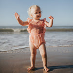 Tully and the Chief | Luna Romper - Peachy Boho