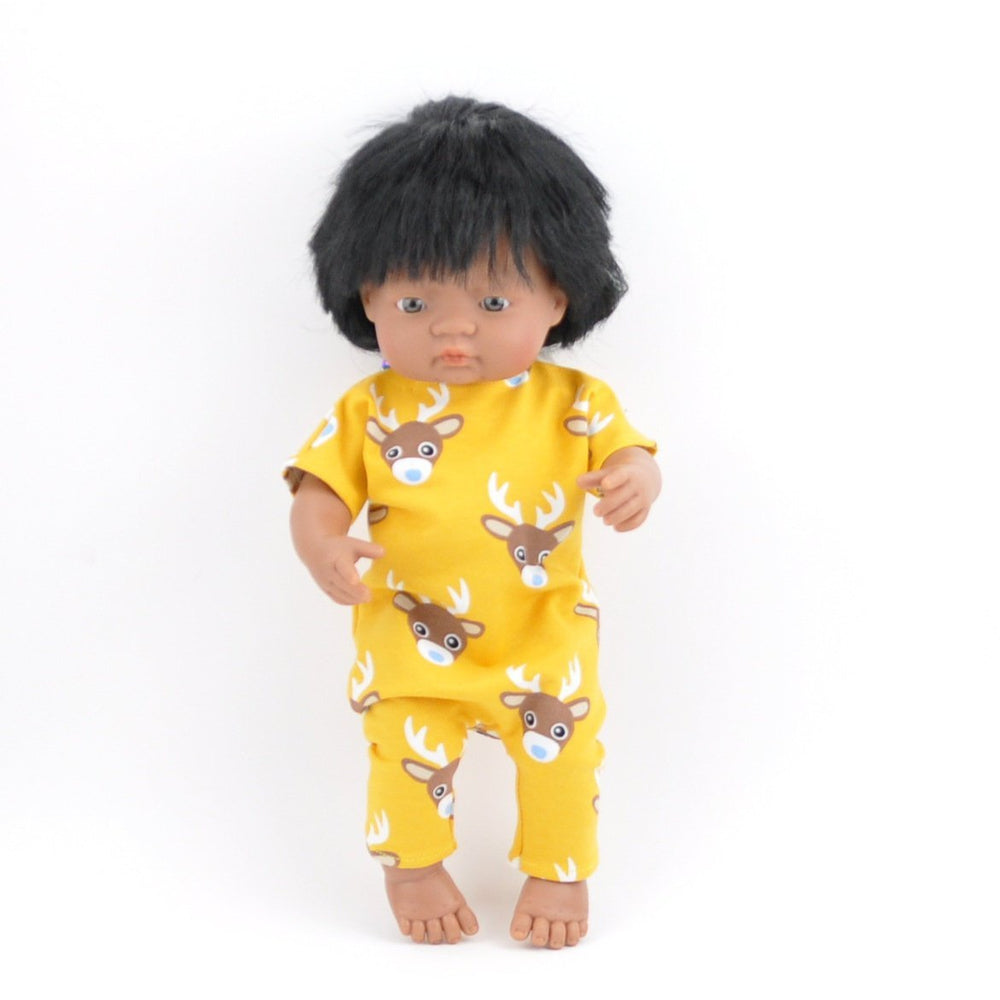 Przytullale | Little Deer Romper - fits 38cm doll