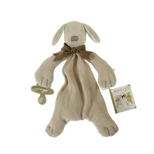 Maud N Lil | Organic Soft Toy Comforter - Paws the Puppy