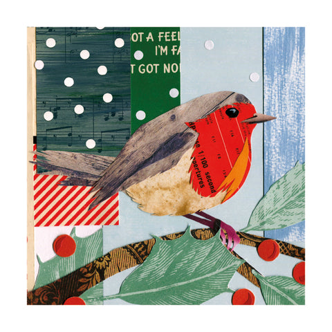 Winter Robin : Pack of 8 cards