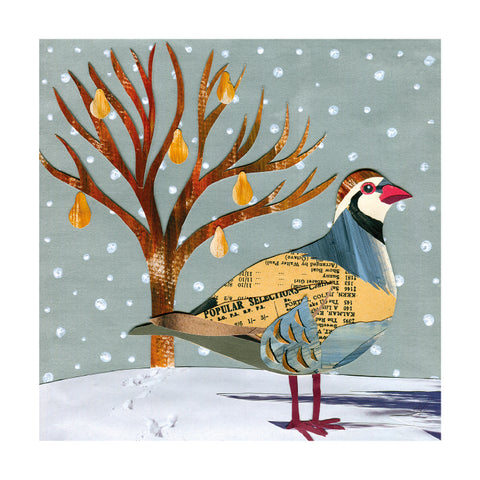 Partridge and Pear Tree : Pack of 8 cards
