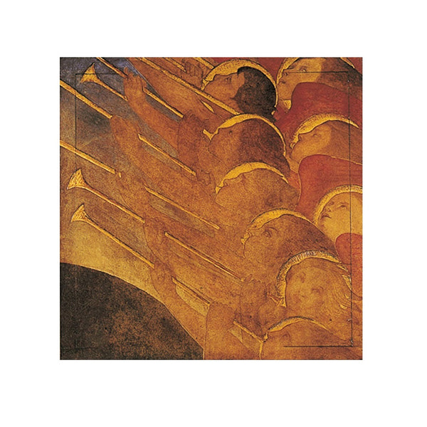 Angels with Trumpets ; Pack of 8 cards