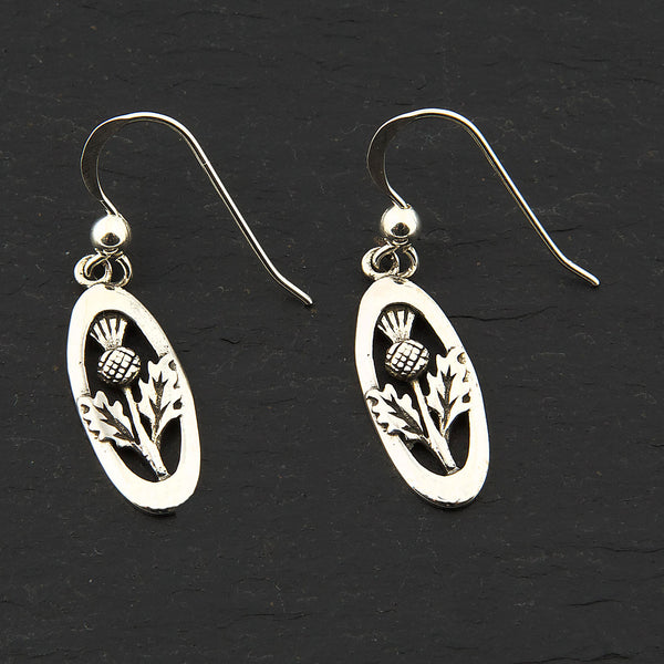 Celtic Thistle Earrings