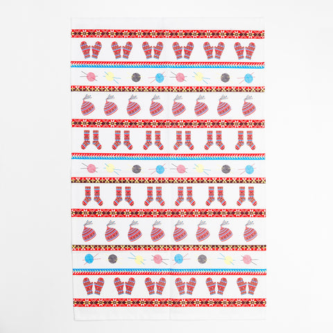 Fair Isle Tea Towel