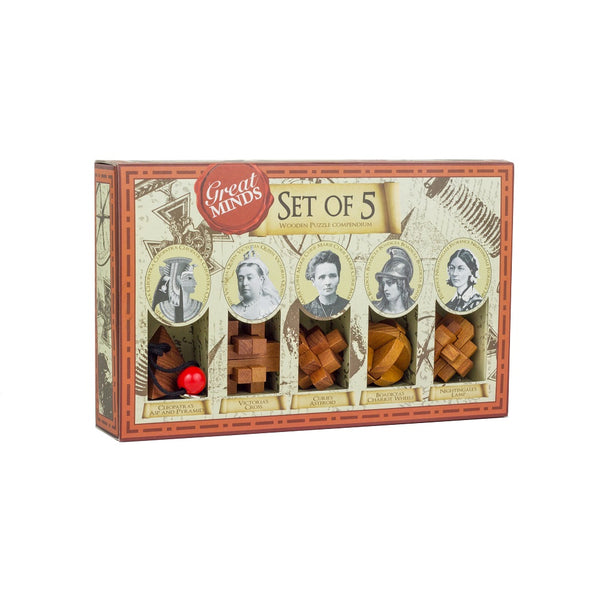 Great Minds mini puzzle set - Great Females