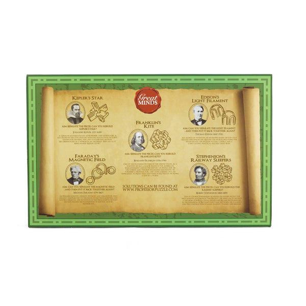 Great Minds mini puzzle set - original