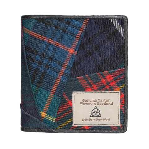 Quirky Tartan wallet thin