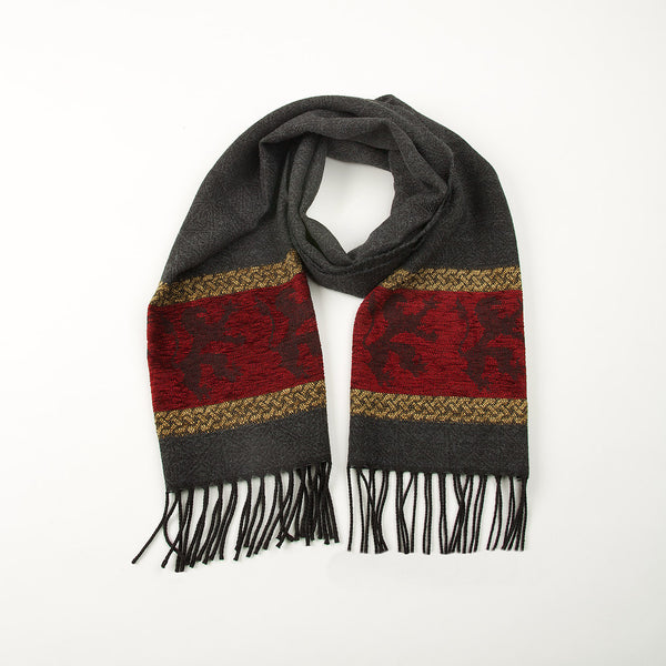 Celtic Red Lion Scarf