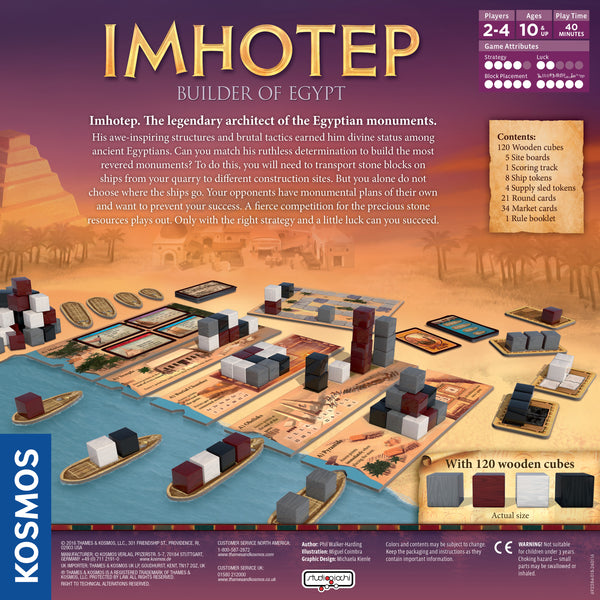Imhotep : The Game