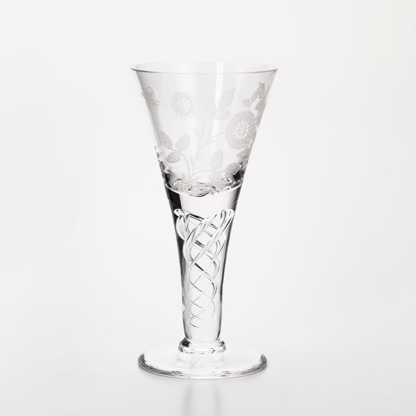 Jacobite Wine Glass Small