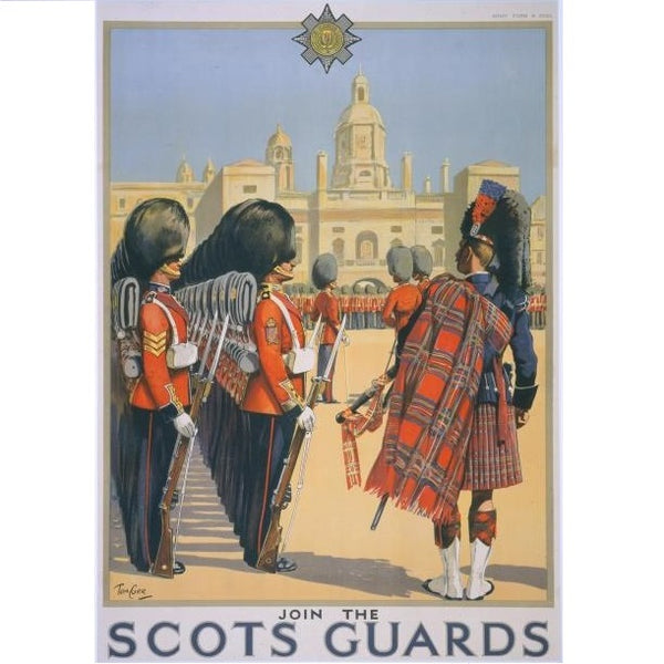 Join the Scots Guards Poster