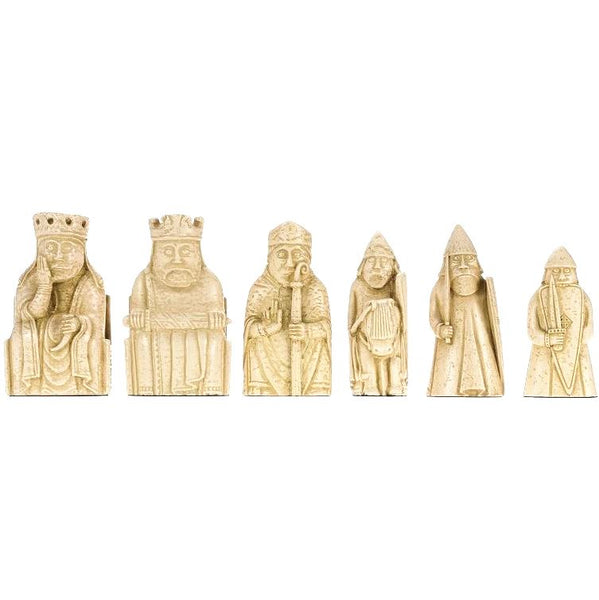 Lewis Chessmen Set of 6 (Full-scale Replica Pieces)