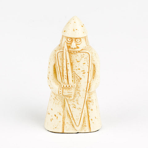 Lewis Chessmen Berserker (Full-scale Replica Piece)