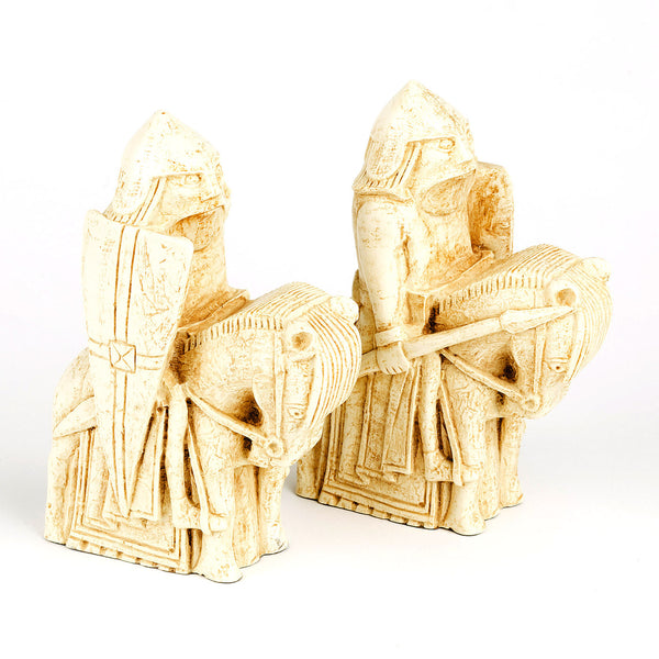 Lewis Chessmen Knight Bookends