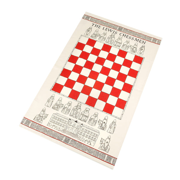 Lewis Chessmen Tea Towel