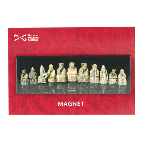 Lewis Chessmen Panoramic Magnet