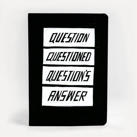 Questions and Answers Notebook